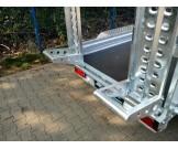 WIOLA B3030 przyczepa do przewozu sprzętu budowlanego