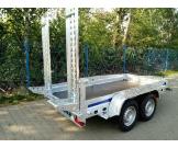 B3030 Wiola przyczepa do przewozu sprzętu budowlanego DMC 3000kg