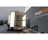 TEMA BOX closed box trailer GVW 1300kg
