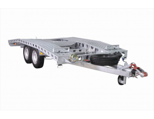 Plattformanhänger TEMA CARPLATFORM 4021P mit zGM von 1600kg bis 2700kg