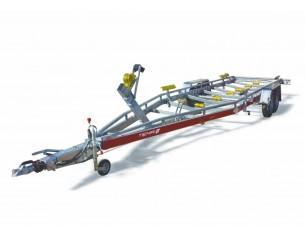 B30/105/23 Tema Przyczepa do transportu łodzi o DMC 3000kg