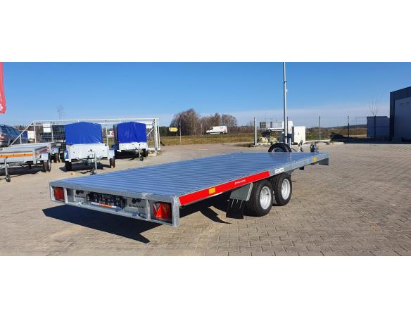 Car Transporter TEMA CARPLATFORM 4021 Twin Axle Trailer GVW 1600-2700kg