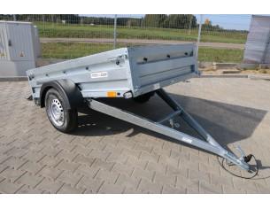 PRO 2612/2 TEMA przyczepa dwuosiowa o DMC 300-750kg